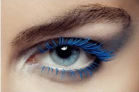 Image result for blue eyelashes